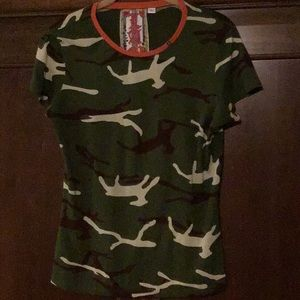 L.A.M.B Camo  Tee from 2007 Collection Size M